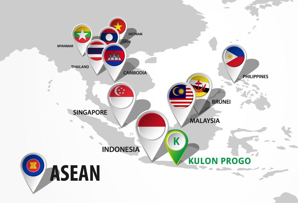 Mapa ASEAN - Kulon Progo